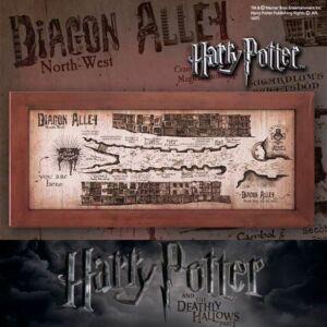 Harry Potter - Mappa di Diagon Alley NN7469 - prodotto ufficiale