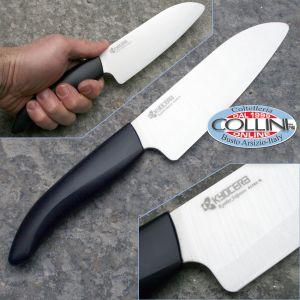 Kyocera - coltello lama in ceramica White Santoku Knife 14 cm FK-140WH