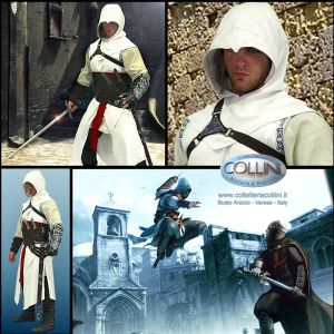 Windlass - Altair Overtunic with Hood - Assassin's Creed