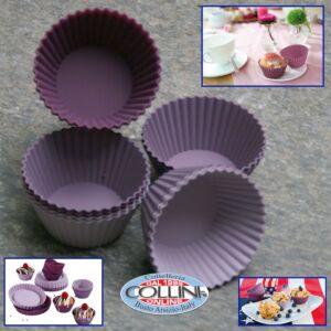 Lurch - Set muffin-pirottini romantic in silicone 12 pezzi