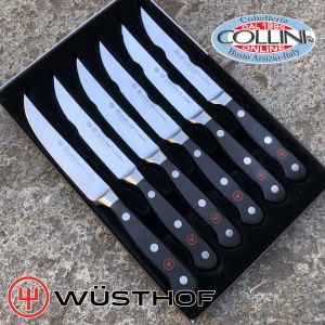 Wusthof Germany - Forged Steak Knives 6 Pieces - 160601 - table knives