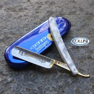 Dovo - Rasoio Nickel 6/8 Madreperla - 98-6810