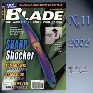 Rivista - Blade - Novembre 2002 - °RC