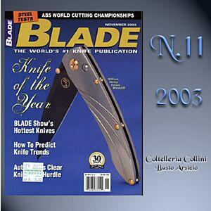 Rivista - Blade - Novembre 2003 - - rivista coltelli americana