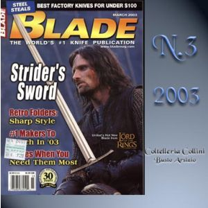 Rivista - Blade - Marzo 2003 - °RC
