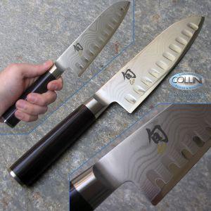 Kai Japan - Shun DM-0718 - Granton Santoku Knife 175mm - coltelli cucina