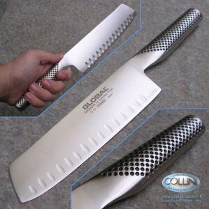 Global knives - G81 - Vegetable Knife Fluted 18cm - kitchen knife - ex g56