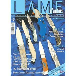 Lame d'autore - Numero 3 - 2003  - rivista