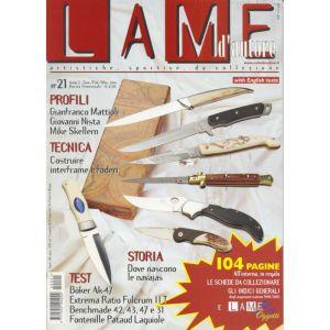 Lame d'autore - Numero 21 - Gennaio/Febbraio/Marzo 2004  - rivista