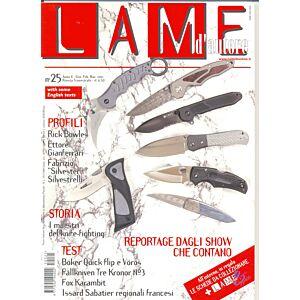 Lame d'autore - Numero 25 - Gennaio/Febbraio/Marzo 2005  - rivista