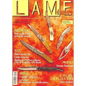 Lame d'autore - Numero 26 - Aprile/Maggio/Giugno 2005 - rivista
