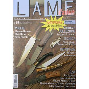 Lame d'autore - Numero 28 - Ottobre/Novembre/Dicembre 2005 - rivista