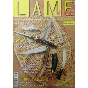 Lame d'autore - Numero 29 - Gennaio/Febbraio/Marzo 2006 - rivista