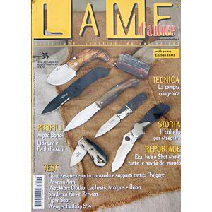 Lame d'autore - Numero 35 - Luglio/Agosto/Settembre 2007 - rivista