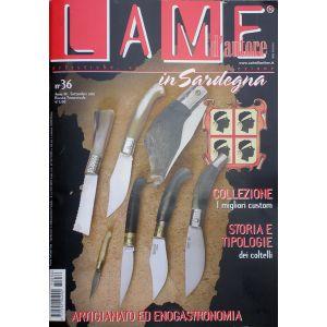 Lame d'autore - Numero 36 - Speciale in Sardegna 2007 - rivista