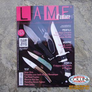 Lame d'autore - Numero 53 - Ottobre - Anno 2011  - rivista