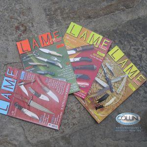 """Pacchetto 4 riviste """"Lame D'Autore"""" collezione 2006"""