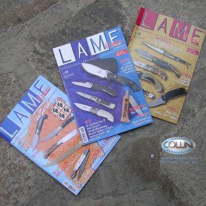 """Pacchetto 3 riviste """"Lame D'Autore"""" 2008"""