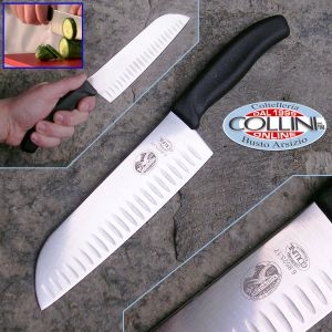 Victorinox - Santoku Knife Olivato 17cm - V - 6.85 23.17B - coltello cucina