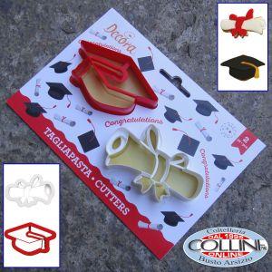 Decora - Graduation Cookie Cutters