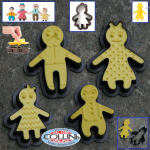 Decora - cutter Happy Family - 8 pieces