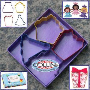 Wilton - Set taglia biscotti - party - 4 pezzi
