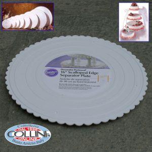 Wilton - Piatto in plastica per torte cm.30