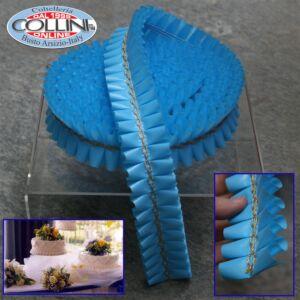 Decora - Nastro girotorta azzurro 3mt. per torte