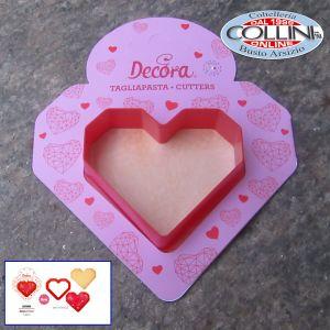 Decora - Tagliapasta cuore geometrico