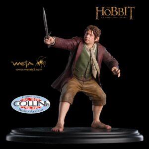 Weta Workshop - Statua di Bilbo Baggins - Lo Hobbit - Il Signore Degli Anelli