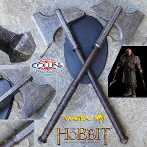 Weta Workshop - Asce di Dwalin - Lo Hobbit - Il Signore Degli Anelli