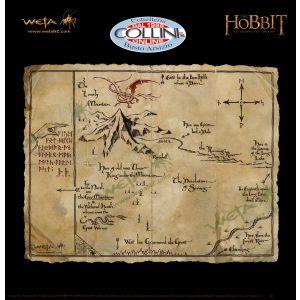 Weta Workshop - Mappa del tesoro di Thorin Scudodiquercia - Lo Hobbit - Il Signore Degli Anelli
