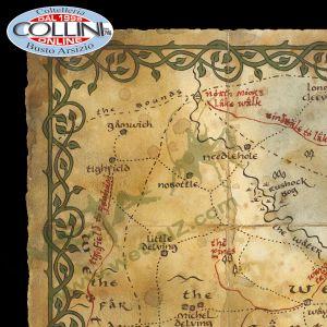 Weta Workshop - Mappa della Contea - Lo Hobbit - Il Signore Degli Anelli