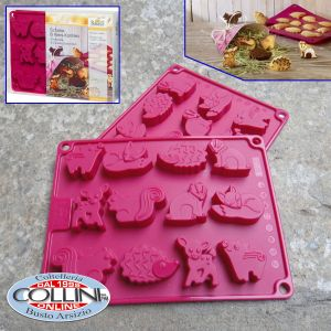 Birkmann -  Moulds for Mini Cakes Chocolate and Cookie Confection-Woodland Crew