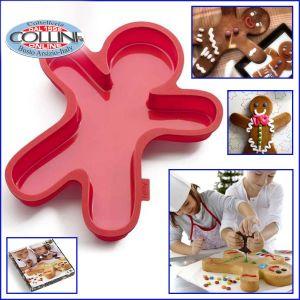 Lékué - Gingerbread mold - Gingerman Cake