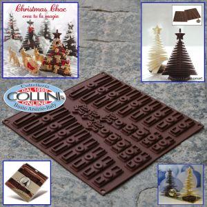 Silikomart - Stampo 3D Tree Choc - albero di cioccolato o biscotto