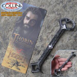 Hobbit - Penna a forma di chiave di Erebor e segnalibri di Thorin Scudodiquercia - Lo Hobbit