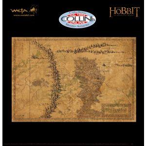 Weta Workshop - Mappa della Terra Selvaggia - Lo Hobbit - Il Signore Degli Anelli