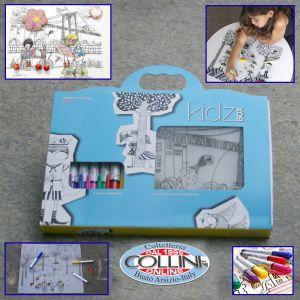 Modern Twist - Kidz Box - slicone pad with markers