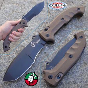 Fox - Trakker Meskwaki - PVD G10 Earth - FX-501 coltello