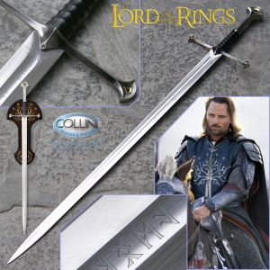 United - Anduril, sword of Aragorn UC1380 - The Lord of the Rings - spada fantasy