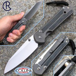 Chris Reeve - Large Sebenza 21 Inlay - Insigo Micarta - knife