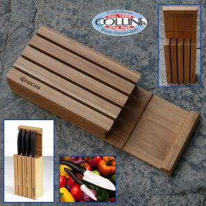Kyocera - Bamboo block for ceramic knives - 4 places - KBLOCK4
