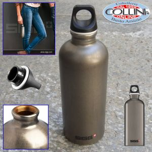 Sigg - Water Bottle Traveller Smoked Pearl 0.6l-34oz