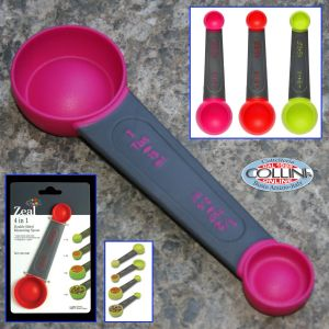 Zeal -  4 in 1 Double Sided Teaspoon Tablespoon Kitchen Measuring Spoons