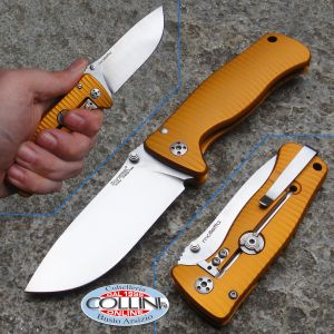 Lion Steel - SR-2A OS - Ergal Arancione - knife