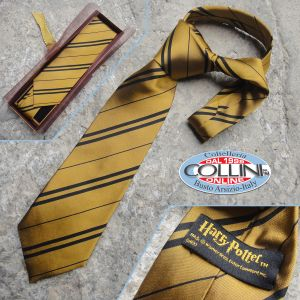 Harry Potter - Hufflepuff Tie - Noble Collection - NN7625 - clothing