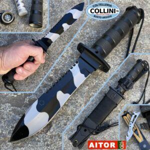 Aitor - Jungle King II Black knife Camo - 16071 - knife