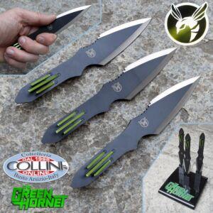 Master Cutlery - Green Hornet - Set Coltelli da Lancio di Kato - MC-GH01 - coltello