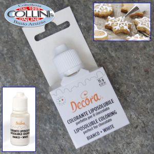 Decora - White liposoluble colouring